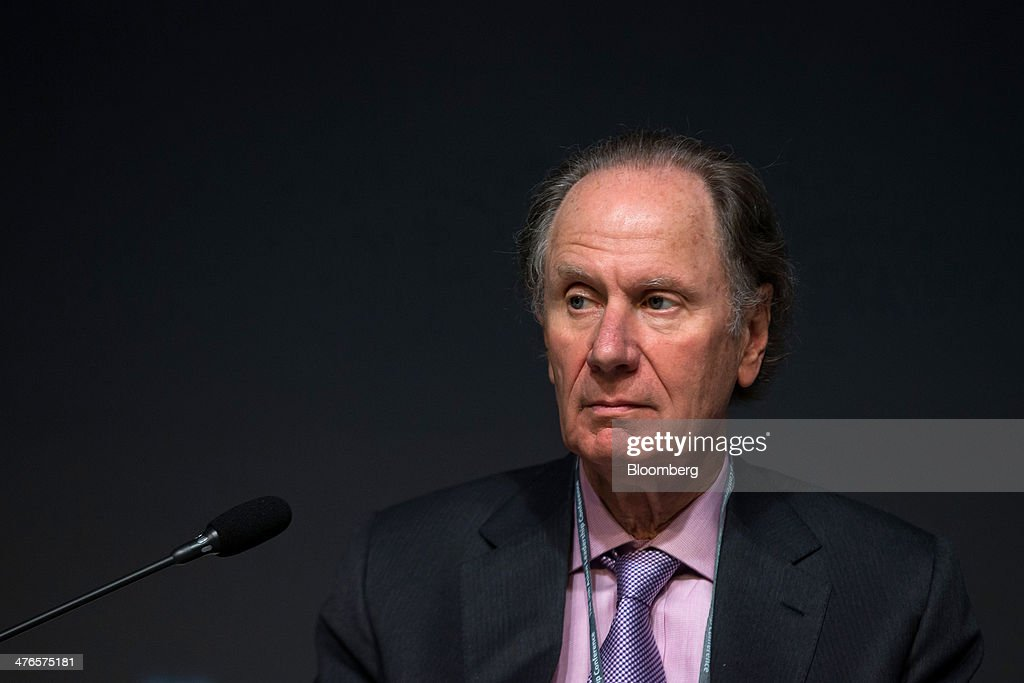 David Bonderman, founding partner of TPG Capital, attends the Asian Leadership Conference in Seoul, South Korea, on Tuesday, March 4, 2014. The conference runs from March 3-4. Photographer: SeongJoon Cho/Bloomberg via Getty Images