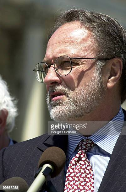 David Bonior DMich during a press conference on China and human rights