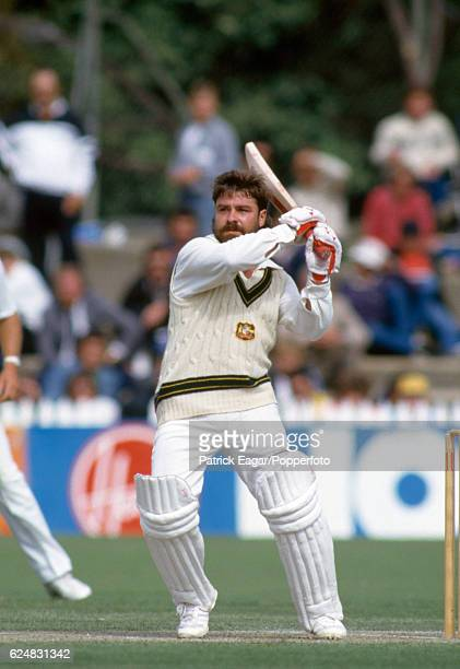 David Boon batting for Australia during his innings of 103 in the 3rd Test match between Australia and England at Adelaide Australia 12th December...