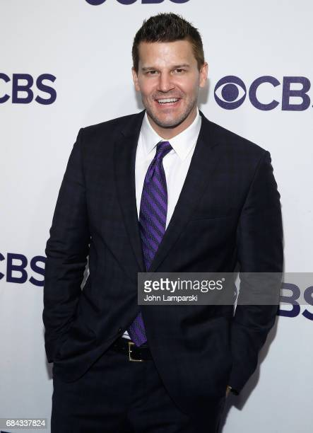 David Boreanaz attends 2017 CBS Upfron at The Plaza Hotel on May 17 2017 in New York City