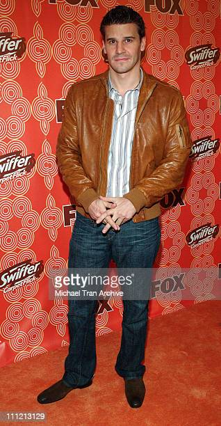 David Boreanaz during FOX Fall Casino Party Arrivals at Cabana Club in Hollywood CA United States