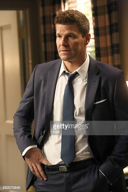 David Boreanaz in the 'The Secret in the Service' episode of BONES airing Thursday May 26 on FOX