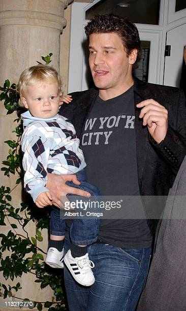 David Boreanaz Children Stock Photos and Pictures   Getty ...