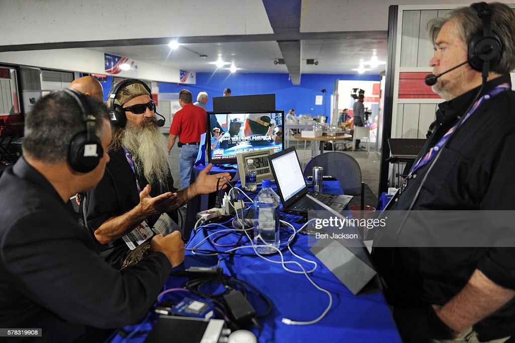 SiriusXM's Coverage Of The Republican National Convention Goes Gavel-to-Gavel On Thursday, July 21 : News Photo