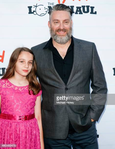 David Bowers appears at the premiere of Diary of a Wimpy Kid The Long Haul at the Indianapolis Motor Speedway on May 12 2017 in Indianapolis Indiana