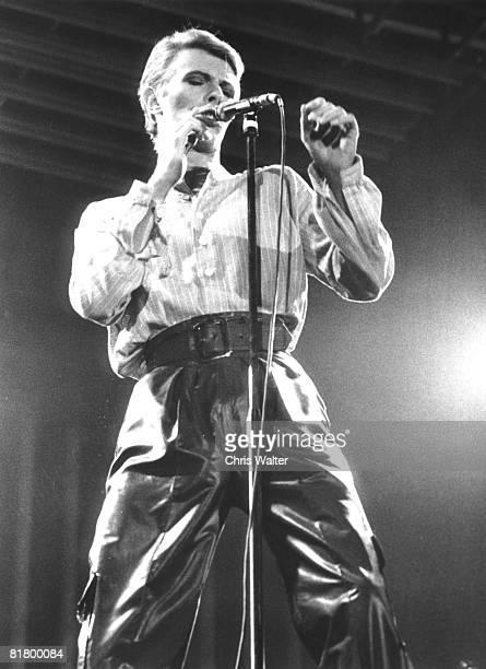 David Bowie 1978 Earls Court
