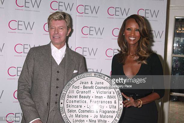 David Bowie and Iman Cosmetic Executive Women Achiever Award Winner