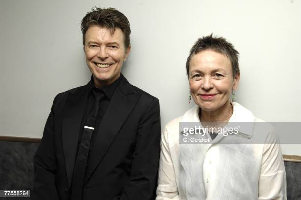 David Bowie and Laurie Anderson *EXCLUSIVE**