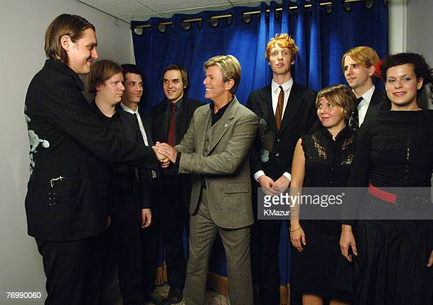 David Bowie and The Arcade Fire