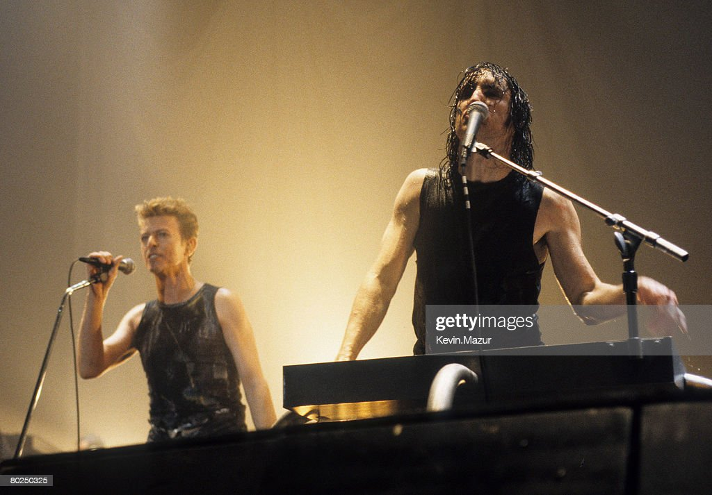 David Bowie and Trent Reznor