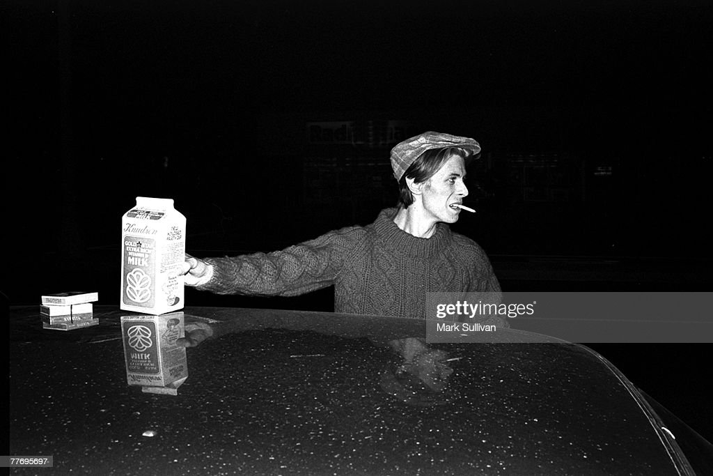David Bowie arriving at Cherokee Recording Studio Hollywood, CA - 1976; Various Locations; Mark Sullivan 70's Rock Archive