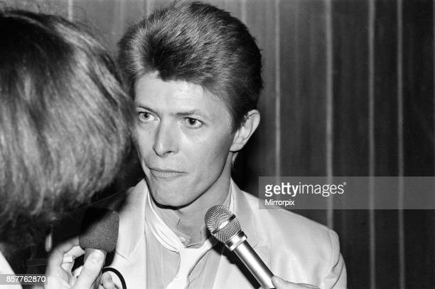 David Bowie at the British Rock and Pop awards He was named the best male singer in the British Rock and Pop Awards for 1980 organised jointly by the...