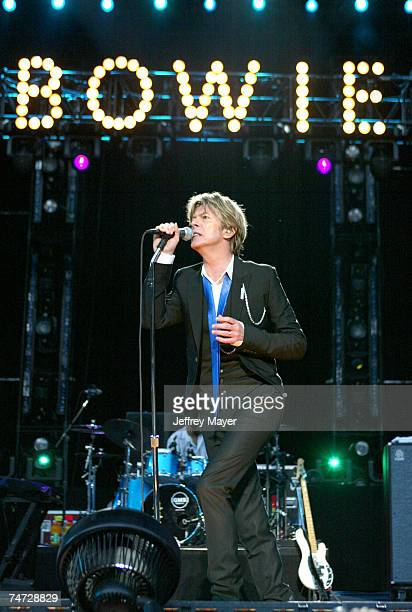 David Bowie at the Verizon Amphitheater in Irvine California