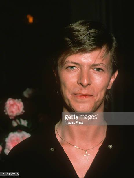 David Bowie attends the Opening Night afterparty for his Broadway play The Elephant Man on December 28 1980 in New York City