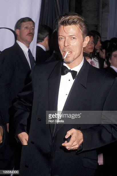 David Bowie during 13th Annual CFDA Awards at Lincoln Center in New York City New York United States