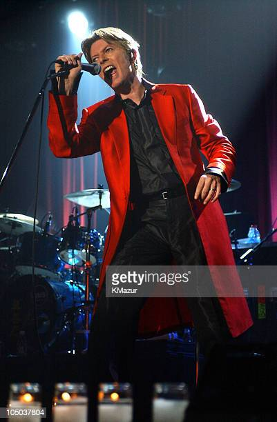 David Bowie during David Bowie in Concert at Roseland at Roseland in New York City New York United States