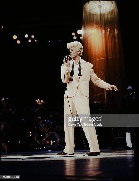 David Bowie Glass Spider Tour NYC 1987