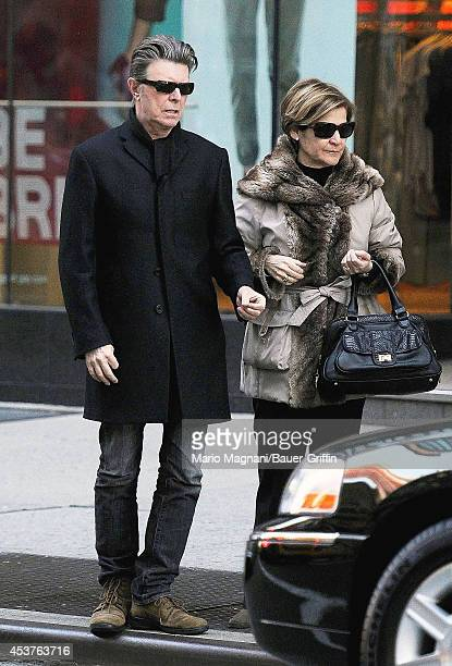David Bowie is seen on February 27 2012 in New York City