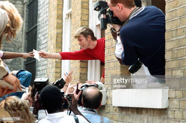 David Bowie launches The Brixton Community Centre, yards away from his own birthplace in Stanfield Road, Brixton. David donated °200,000 of his own...