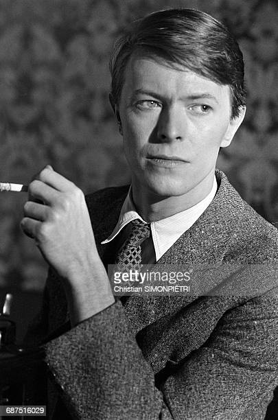 David Bowie on the set of David Hemmings' film 'Just a Gigolo' 1st February 1978