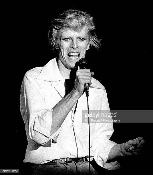 David Bowie performing at the Boston Music Hall July 16 1974 on The Diamond Dogs Tour