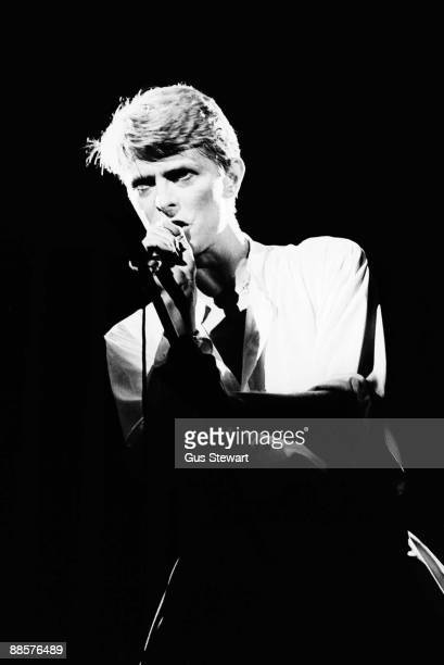 David Bowie performs on stage on Low And Heroes World Tour at Earls Court on June 29th 1978 in London