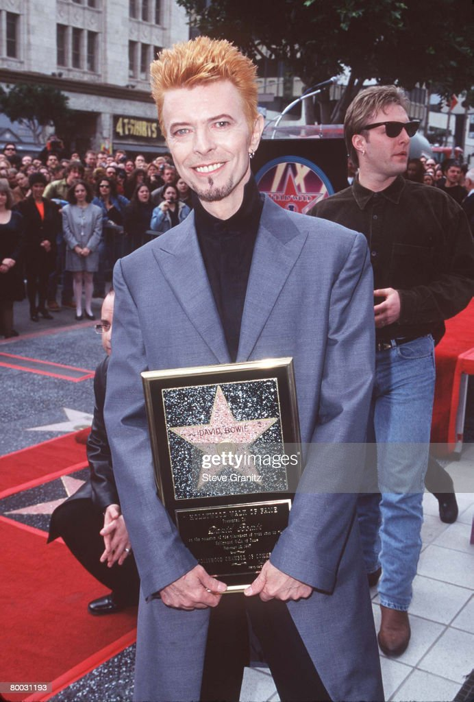 David Bowie Honored with a Star on the Hollywood Walk of Fame
