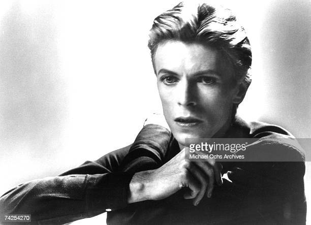 David Bowie poses for a portrait in 1978