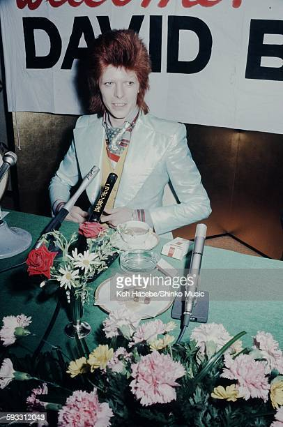 David Bowie press conference at Imperial Hotel Tokyo April 5 1973