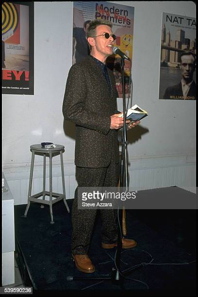 David Bowie who published the biography written by William Boyd