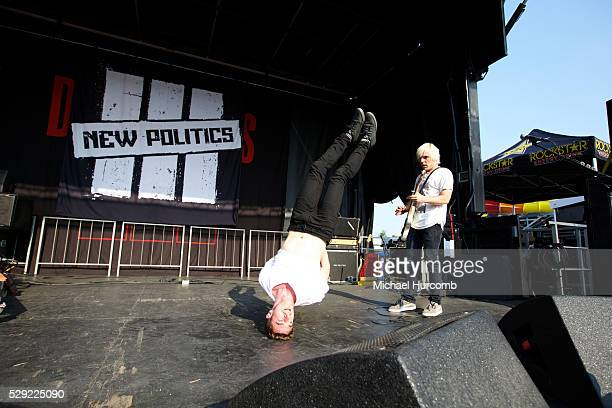 David Boyd performs with New Politics at the Rockstar Energy Drink Uproar Festival in Toronto Ontario
