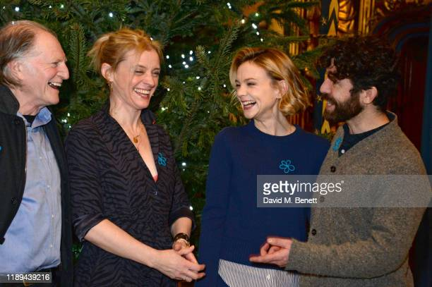 David Bradley AnneMarie Duff Carey Mulligan and Paul Ready attend the Alzheimer's Society's Carols At Christmas hosted by Carey Mulligan at Southwark...