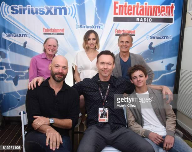 David Bradley, Corey Stoll, Ruta Gedmintas, Kevin Durand, Richard Sammel and Max Charles attend SiriusXM's Entertainment Weekly Radio Channel...