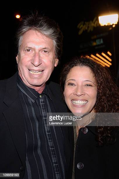 David Brenner and Tai Babilonia during Beyond The Sea New York Premiere Arrivals at Ziegfield Theater in New York City New York United States