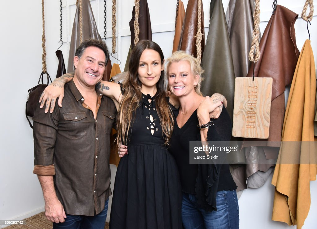 adc9fb4f63c3 Hobo Leather Lounge Hosted by Artists   Fleas VIP Event   News Photo