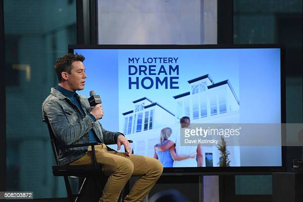David Bromstad arrives at the AOL Build Speaker Series at AOL Studios In New York on February 3 2016 in New York City