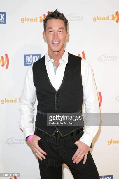 David Bromstad attends JILL ZARIN hosts GLAAD OUT Auction with the Real Housewives of NYC at Metropolitan Pavillion on November 21 2010 in New York...