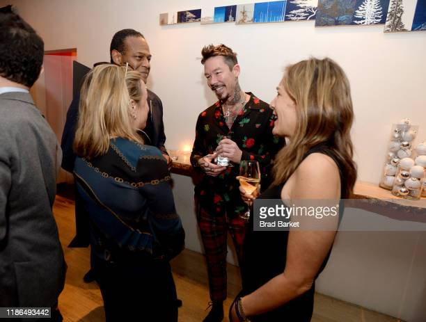 David Bromstad attends the Discovery Inc Holiday Press Party 2019 at ABC Kitchen on December 03 2019 in New York City