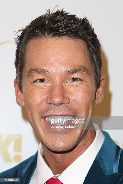 David Bromstad attends the OK Magazine PreGRAMMY Party at Sound on February 7 2013 in Hollywood California