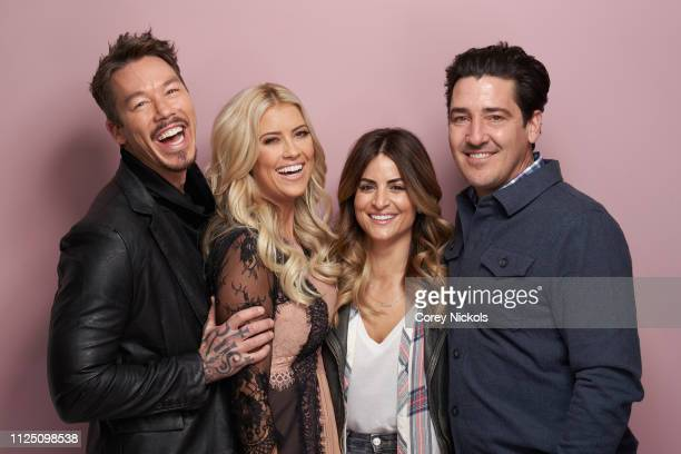David Bromstad of HGTV's My Lottery Dream Home' Christina Anstead of HGTV's 'Christina on the Coast' Alison Victoria of HGTV's 'Windy City Rehab' and...