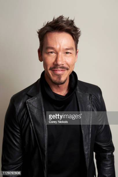 David Bromstad of HGTV's 'My Lottery Dream Home' poses for a portrait at The Langham Huntington Pasadena on February 12 2019 in Pasadena California