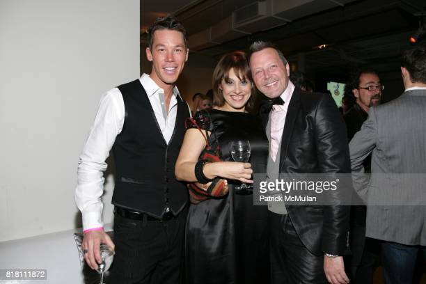 David Bromstad Sharon Haver and Bowles attend JILL ZARIN hosts GLAAD OUT Auction with the Real Housewives of NYC at Metropolitan Pavillion on...