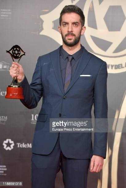 David Broncano attends 'Iris Academia de Television' awards at Nuevo Teatro Alcala on November 18 2019 in Madrid Spain