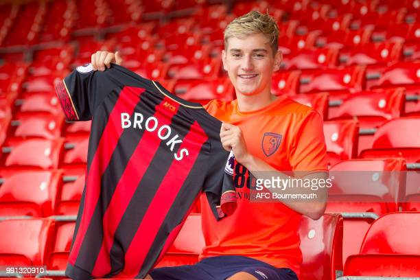 David Brooks AFC Bournemouth's new signing following his press conference this morning ahead of the new Premier League 201819 season on July 4 2018...