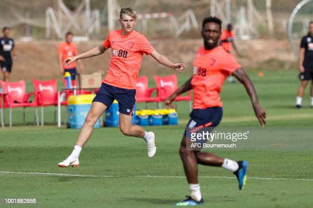 David Brooks of Bournemouth during preseason training on July 19 2018 in La Manga Spain