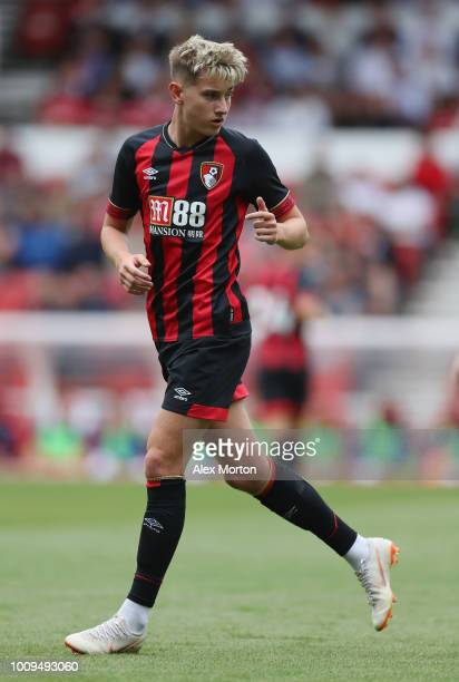 David Brooks of Bournemouth during the pre season friendly match between Nottingham Forest and Bournemouth at City Ground on July 28 2018 in...