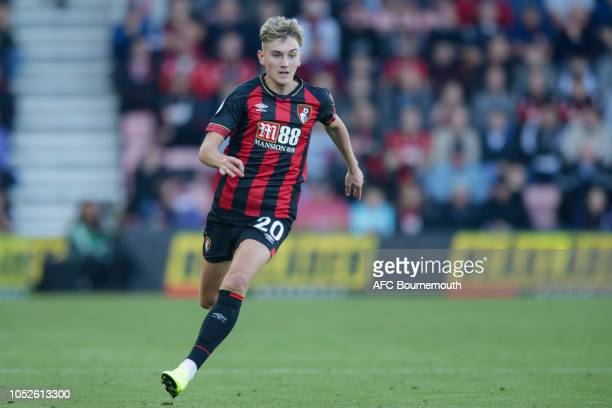 David Brooks of Bournemouth during the Premier League match between AFC Bournemouth and Southampton FC at Vitality Stadium on October 20 2018 in...