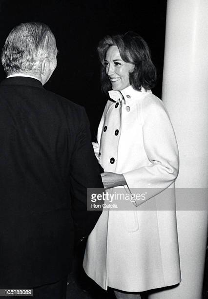 David Brown and Helen Gurley Brown during At The New York Offices of Cosmopolitan Magazine at New York City Cosmopolitan Magazine Office in New York...