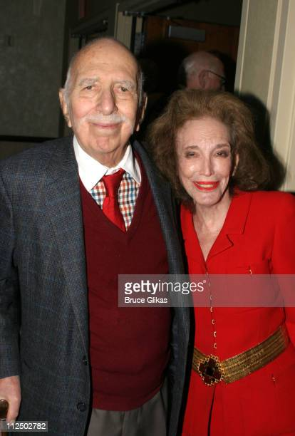 David Brown and Helen Gurley Brown during Broadway's Plymouth and Royale Renamed as The Schoenfeld Theater and The Jacobs Theater at 45th Street -...