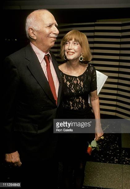 David Brown and Helen Gurley Brown during The Independent Feature Project's Gotham Awards at Roseland Ballroom in New York City, New York, United...